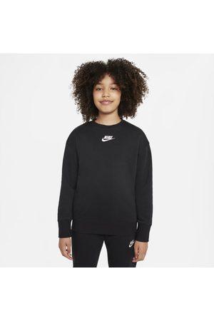 Nike Tröja med rund hals Sportswear Club Fleece för ungdom (tjejer)