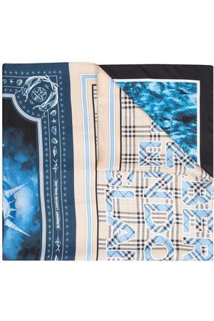 Burberry Sjalar - Montage-print scarf