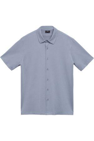 MANGO Man Pikétröjor - T-shirt 'Bonheur