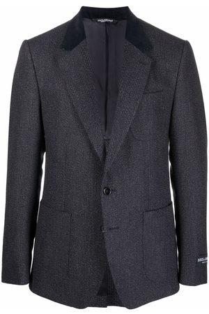 Dolce & Gabbana Man Kavajer - Contrast-lapel blazer
