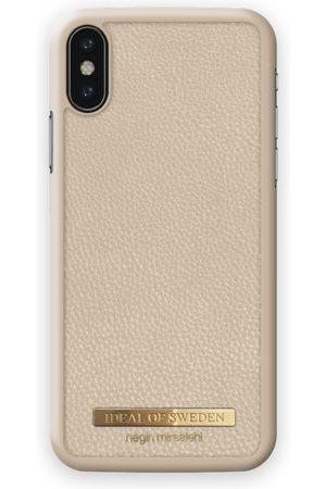 Ideal of sweden Pebbled Case Negin iPhone XS MAX Beige