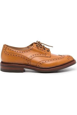 Tricker's Man Loafers - Perforated-design loafers