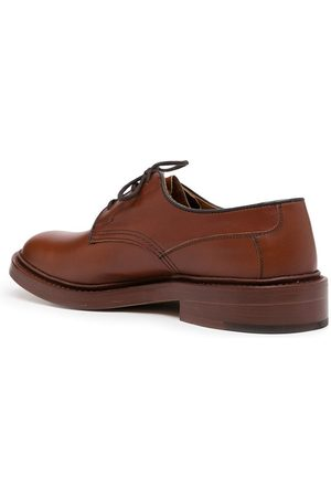TRICKERS Lace-up leather loafers