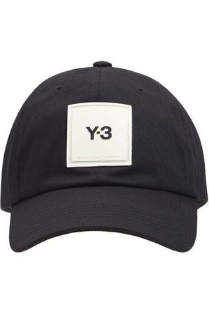 Y-3 Man Kepsar - Logo Cotton Cap