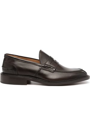 TRICKERS Slip-on leather penny loafers