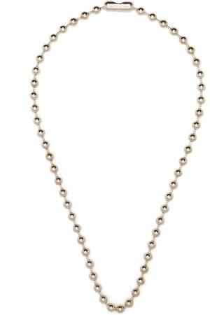Takahiromiyashita The Soloist Ball chain necklace