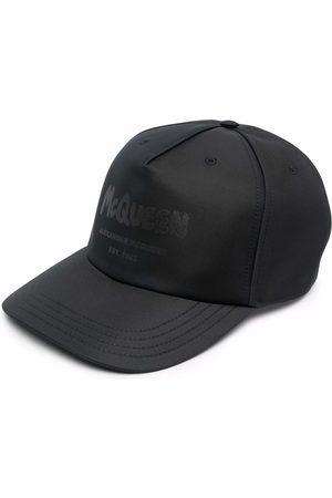 Alexander McQueen Man Kepsar - Logo-print cotton baseball cap