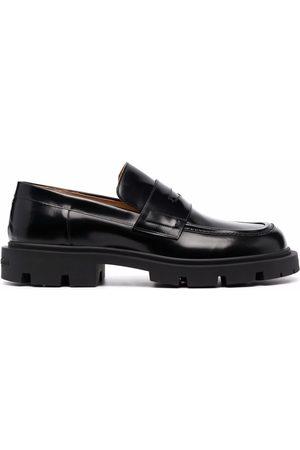 Maison Margiela Leather penny loafers