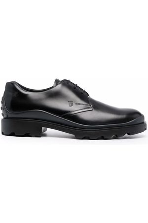 Tod's Man Loafers - Debossed logo Derby shoes