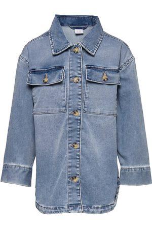 Lindex Barn Jeansskjortor - Shirt Denim Overshirt Skjorta