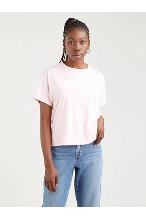 Levi's Flicka T-shirts - Varsity t shirt med tryck