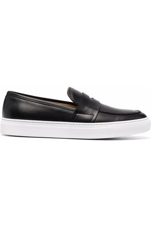 Scarosso Alberto penny leather loafers