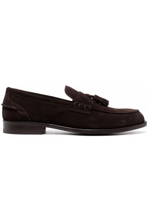 Scarosso Man Loafers - Ralph tassel-embellished suede loafers