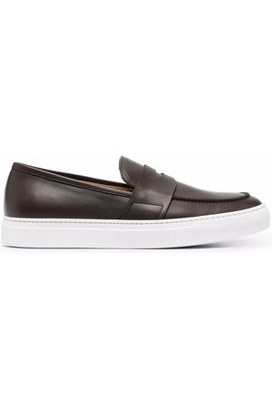 Scarosso Alberto leather penny loafers