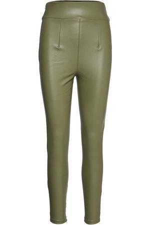 Guess Kvinna Leggings byxor - Priscilla Leggings Leather Leggings/Byxor
