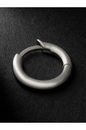 SPINELLI KILCOLLIN Man Örhängen - White Gold Single Hoop Earring