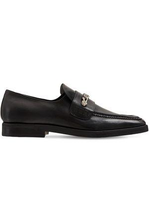 MATTIA CAPEZZANI Man Loafers - Leather Loafers W/ Chain
