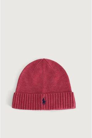 Polo Ralph Lauren Man Mössor - Mössa Merino Wool hat Röd