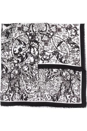 Philipp Plein Sjalar - New Baroque sjal med tryck
