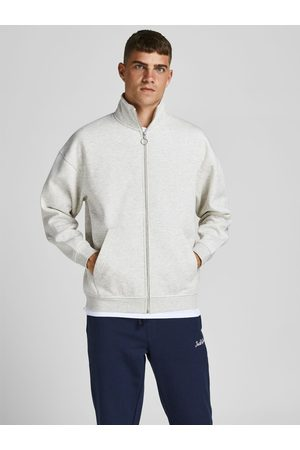 JACK & JONES Man Sweatshirts - Blixtlåsförsedd Sweatshirt Man