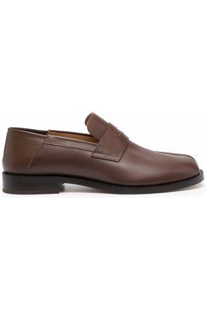 Maison Margiela Man Loafers - Tabi-toe polished-finish loafers