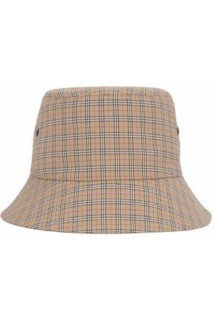 Burberry Man Hattar - Technical check bucket hat