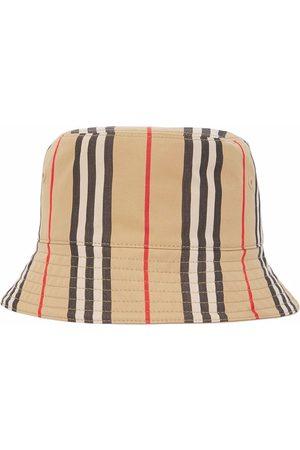 Burberry Icon Stripe bucket hat