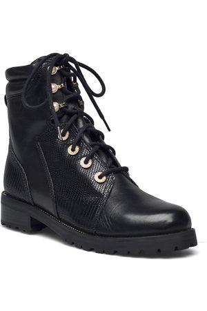 Dune London Kvinna Ankelboots - Pompom Shoes Boots Ankle Boots Ankle Boot - Flat