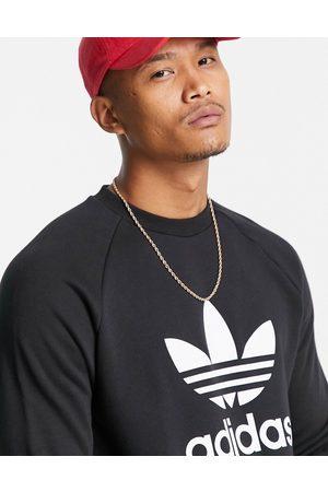 adidas Originals – adicolour – sweatshirt med treklöverlogga- /a