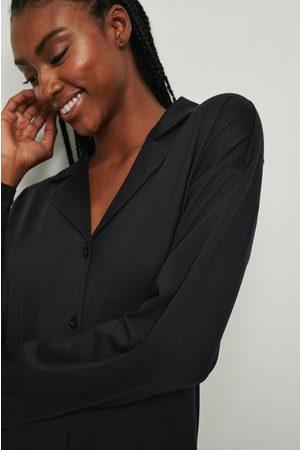 NA-KD Soft Comfort Långärmad Skjorta