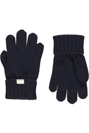 MarMar Handskar - Ull/Bomull - Ask - Mörkaste Blue