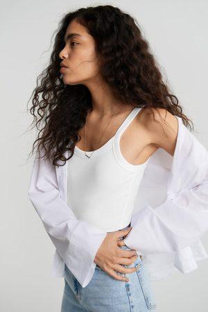 Gina Tricot Basic rib singlet