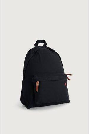 Polo Ralph Lauren Man Plånböcker - Ryggsäck Canvas Backpack Svart