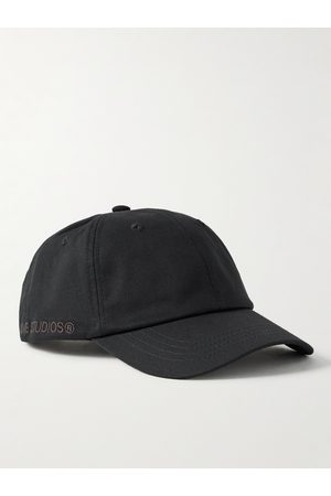 Acne Studios Man Kepsar - Logo-Embroidered Cotton-Twill Baseball Cap