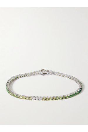 Hatton Labs Man Armband - Sterling Crystal Tennis Bracelet