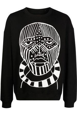 Haculla Man Sweatshirts - Tröja med ansiktstryck