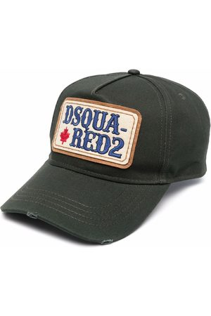 Dsquared2 Man Kepsar - Logo-patch embroidered cap