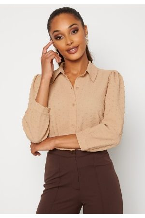 Happy Holly Felicity blouse Beige 40/42