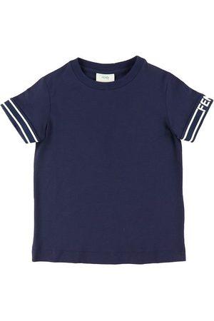 Fendi T-shirt - Marinblå m.