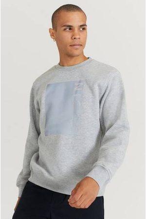 Nicce London Man Sweatshirts - Sweatshirt Cube Sweat Grå