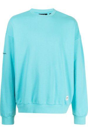 FIVE CM Logo patch cotton sweatshirt
