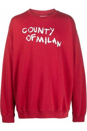 MARCELO BURLON Logo-print sweatshirt