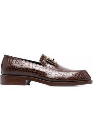 Fendi Man Loafers - FF Baguette-motif loafers