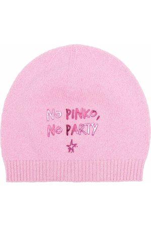 Pinko Kvinna Mössor - Mössa med slogan