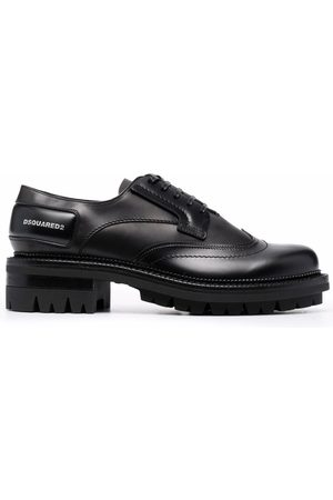 Dsquared2 Man Loafers - Polished leather derby shoes