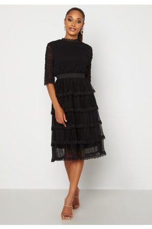 Happy Holly Agnes Lace Dress Black 32/34