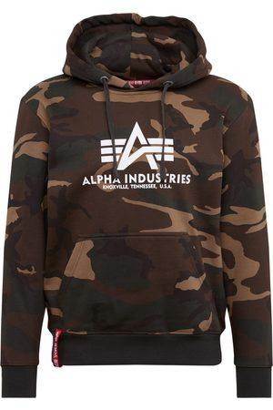 Alpha Industries Man Hoodies - Sweatshirt 'Basic Hoody Camo