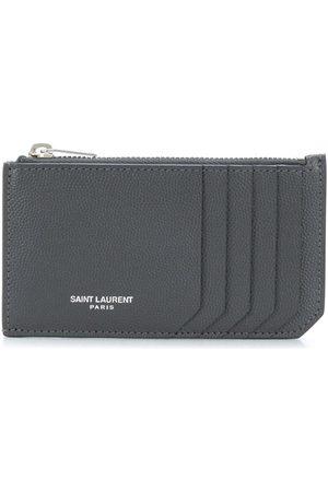 Saint Laurent Man Plånböcker - Korthållare med dragkedja