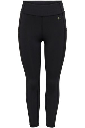 Only Solid Colored Training Tights Kvinna