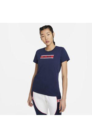 Nike Kortärmad t-shirt Paris Saint-Germain för kvinnor